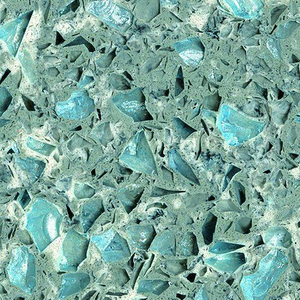 Colorful Shining Blue Quartz Stone Slab